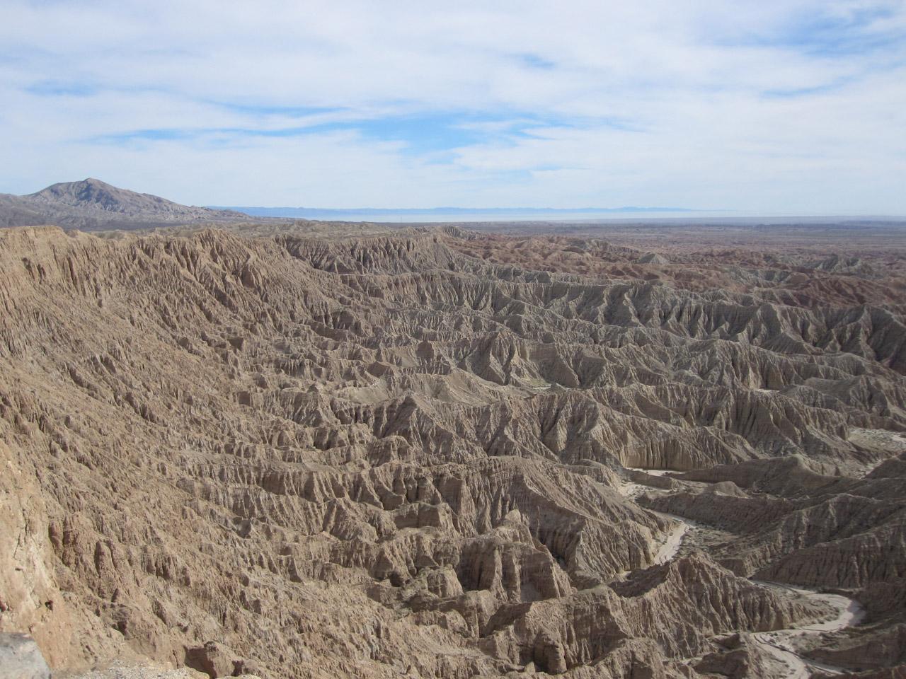 Anza Borrego Desert Sp North California Trail Map