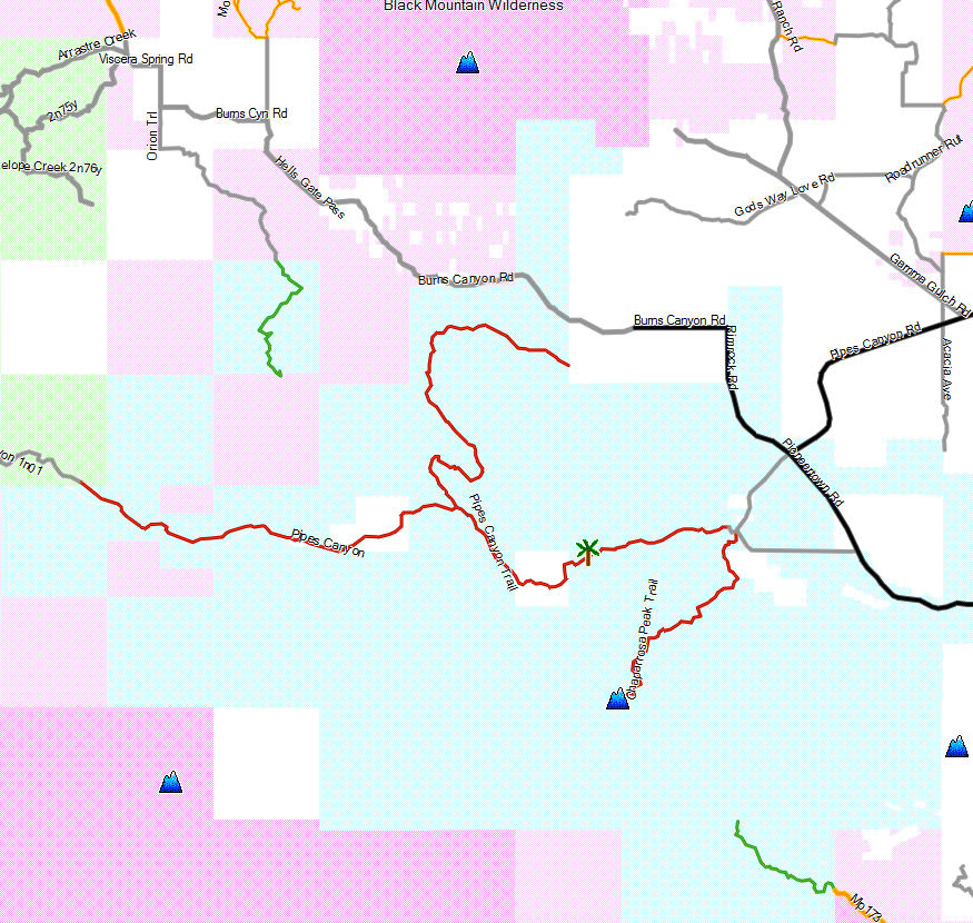 Garmin Map Update >> Pioneertown Mountains Preserve - California Trail Map