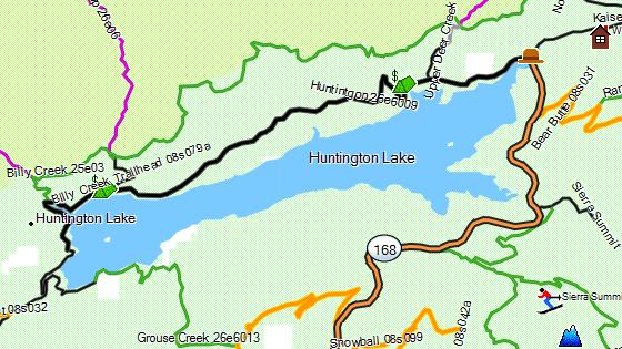 California Trail Map