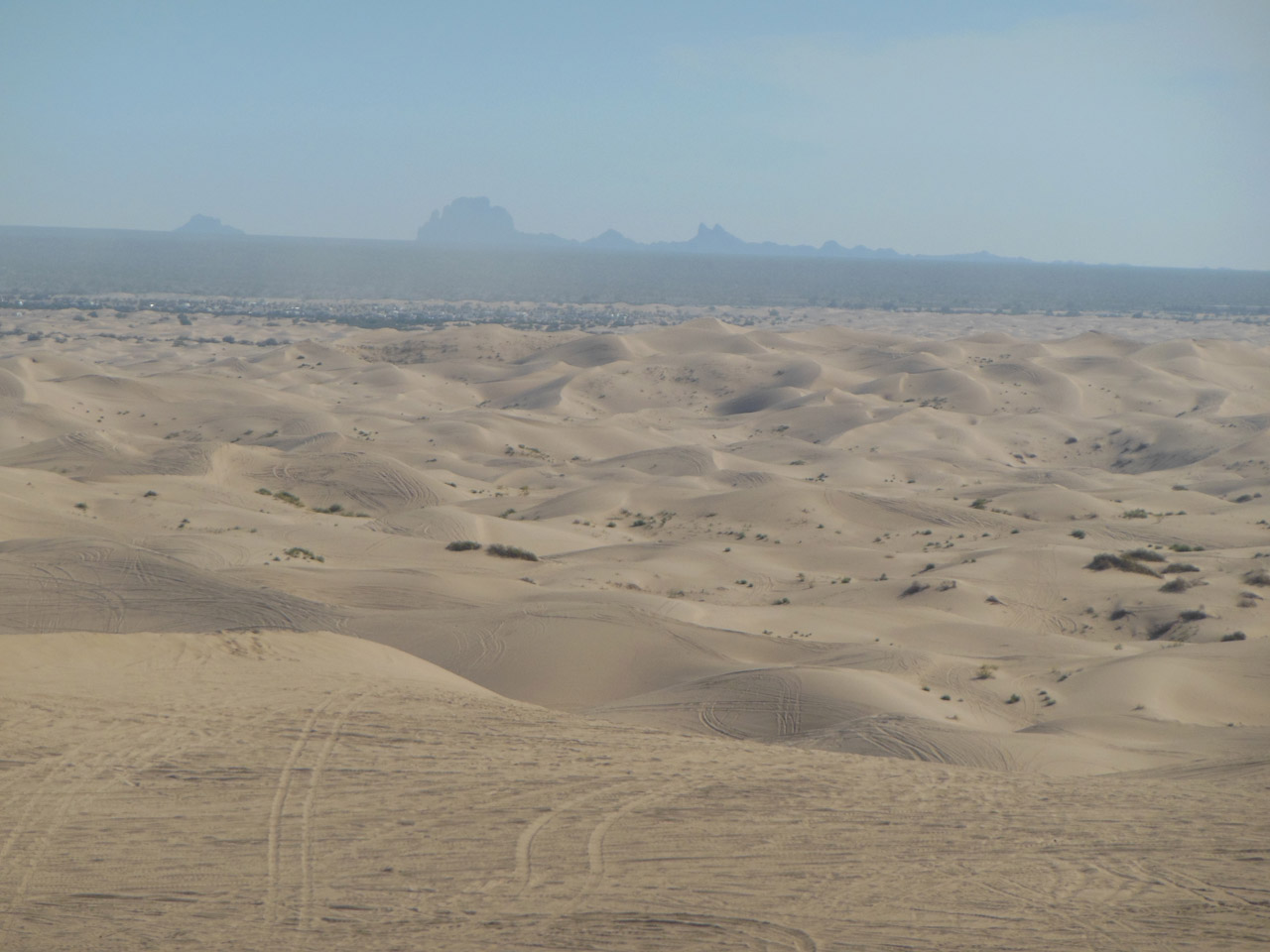 Imperial Sand Dunes North Glamis California Trail Map
