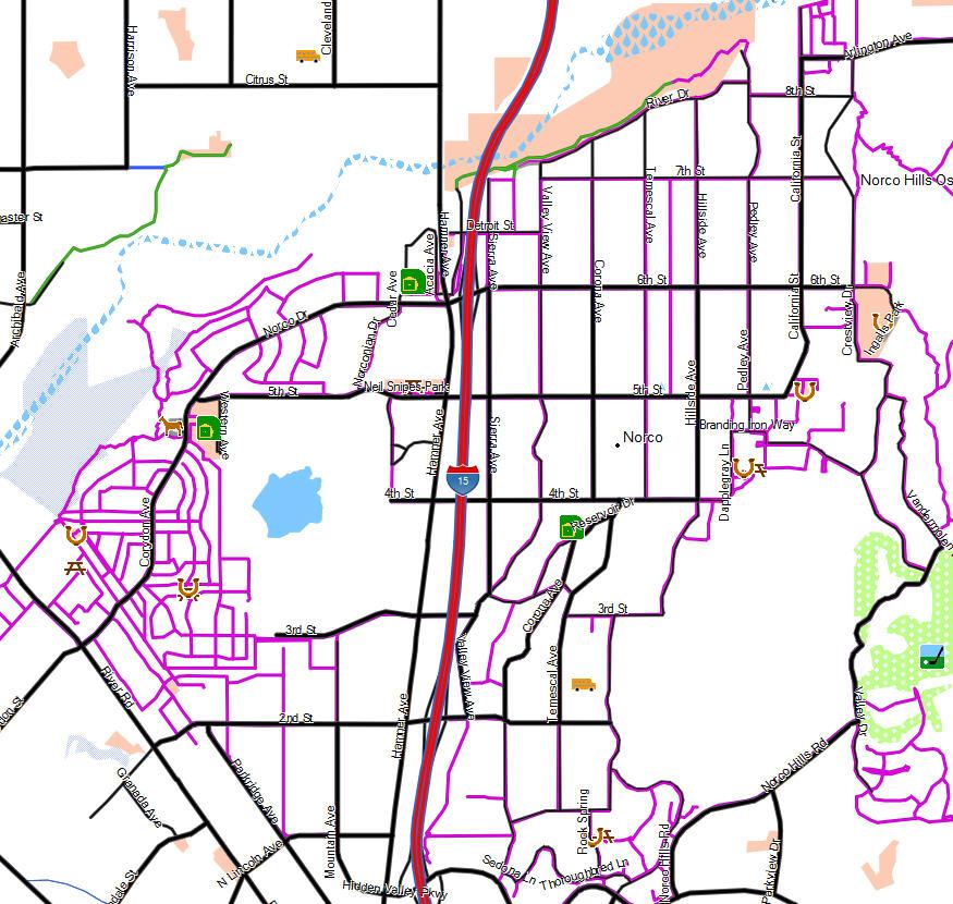 Garmin Map Update >> Norco - California Trail Map