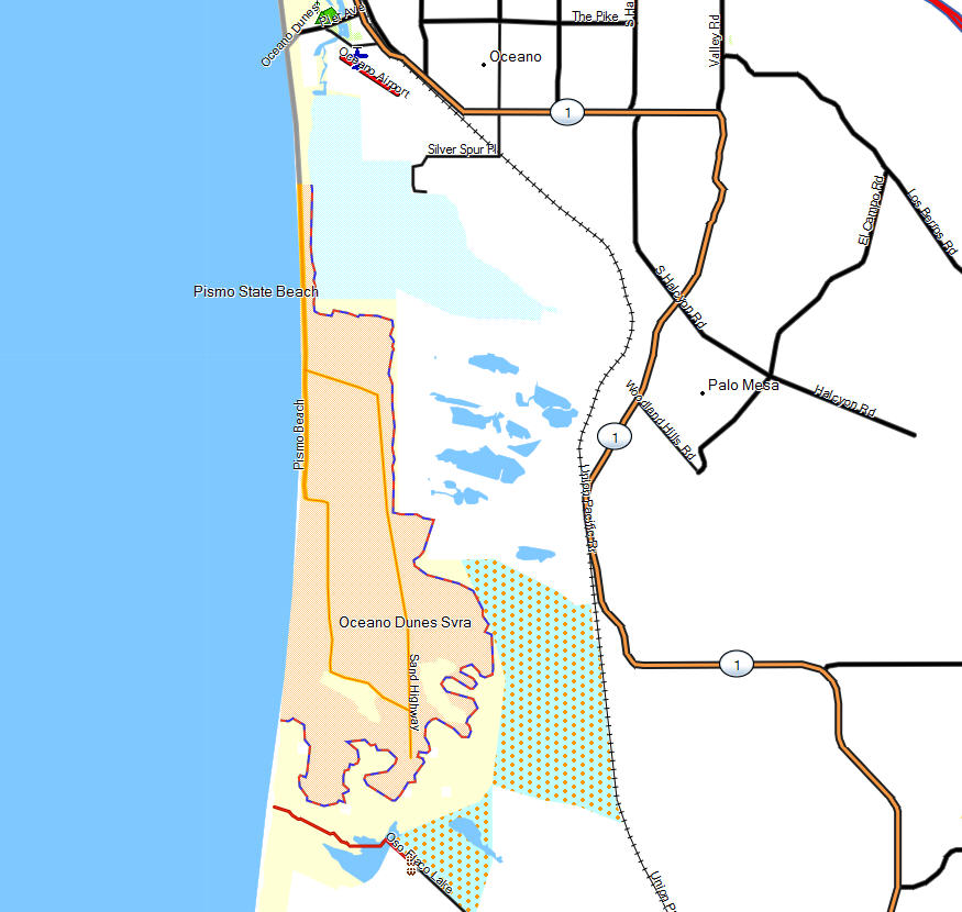 OceanoDunesMap Santa Lucia Preserve Map on art institute of chicago map, south africa preserve map, pebble beach map, barton creek resort map, russian river vineyards map,