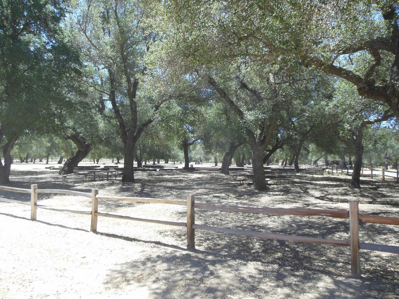 California Rv Show >> Potrero County Park - California Trail Map