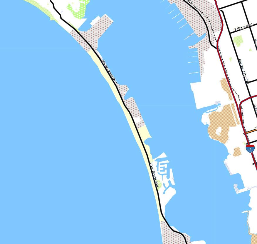 Garmin Map Update >> Silver Strand SB - California Trail Map